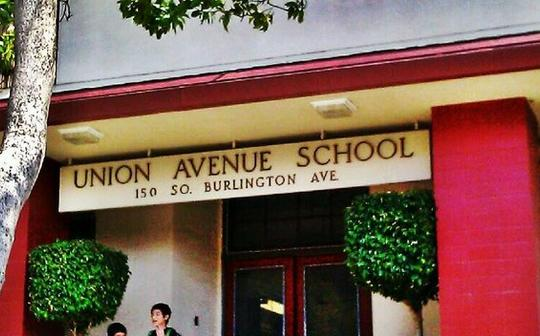 Union Ave Main Entrance Sign