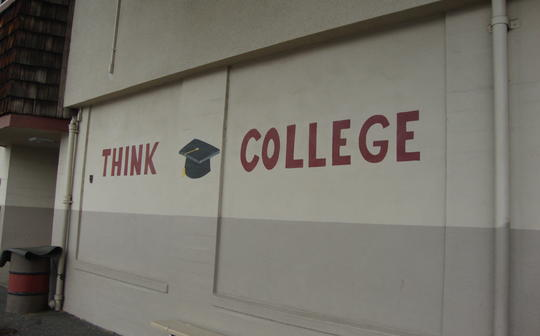 Think College Mural